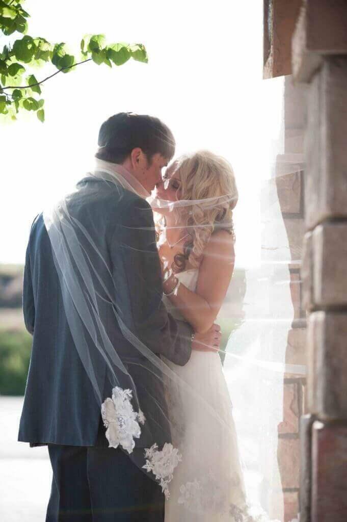 Outdoor-wedding-photo-with-veil-Bella-Sera