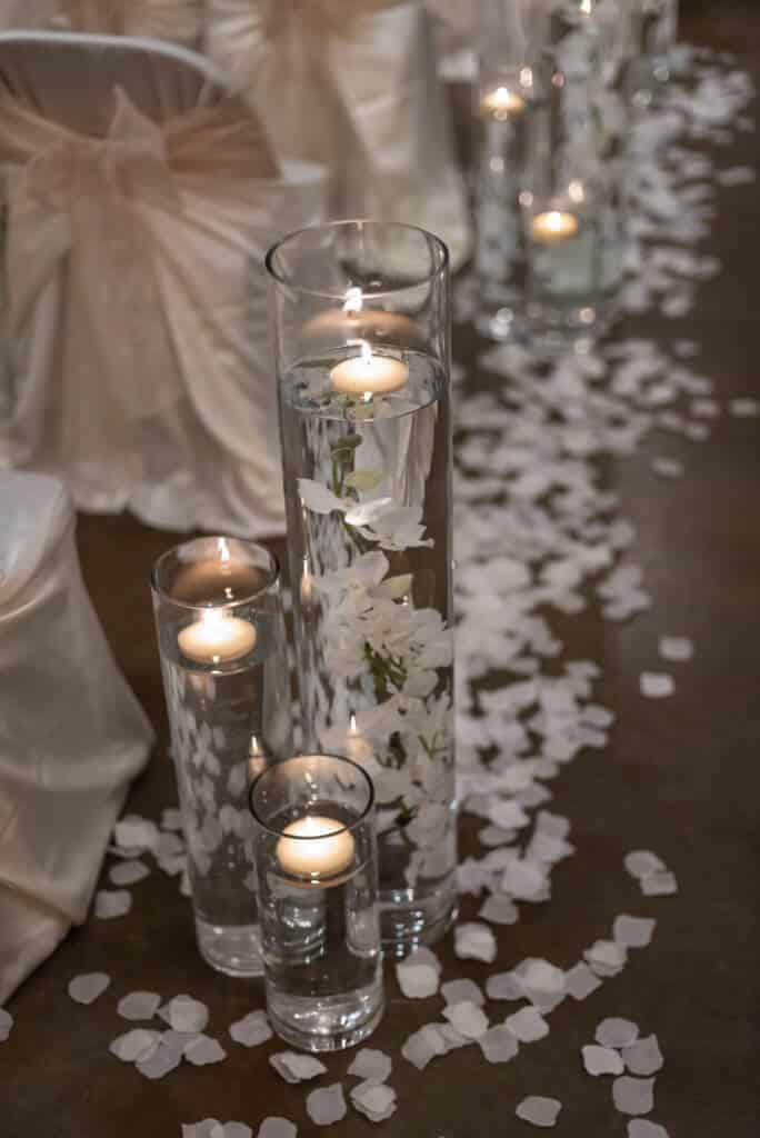 Romantic-candlelit-wedding-ceremony-Aisle-vases-5635-684x1024