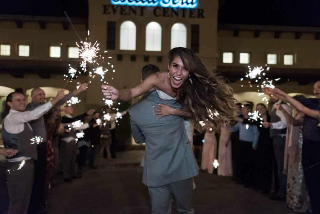 Wedding-sparklers-at-Bella-Sera-Andie-1024x684