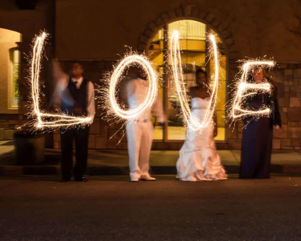 Wedding-sparklers-shot-at-Bella-Sera-1024x819