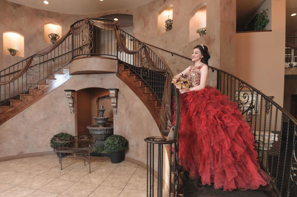 Quinceanera-Burgandy-Stairs_sml-1024x681
